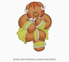 BEARS and FIGHTERS - Dhalsim by MAISON-MACARONI
