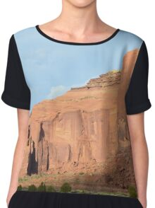 Monument Valley 9 Chiffon Top