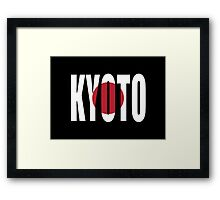 Kyoto. Framed Print