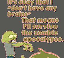 Zombie Apocalypse by tinkerz