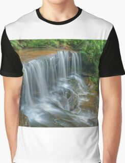 Lower Somersby Falls Graphic T-Shirt