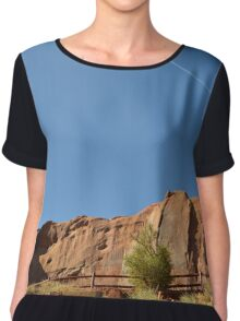 Monument Valley 13 Chiffon Top
