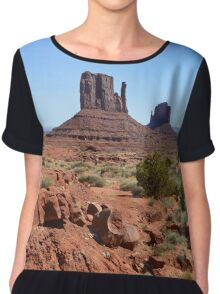 Monument Valley 14 Chiffon Top