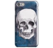 Empty Shell on a Cosmic Beach iPhone Case/Skin