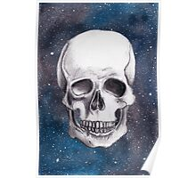 Empty Shell on a Cosmic Beach Poster