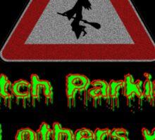 Witch Parking - Toad Sticker