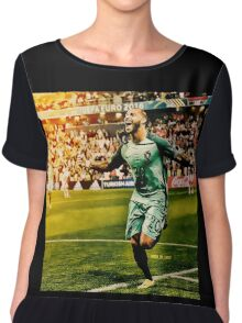 Ricardo Quaresma Portugal Euro 2016 Women's Chiffon Top