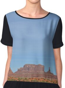 Monument Valley 16 Chiffon Top