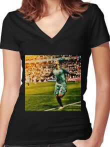 Ricardo Quaresma Portugal Euro 2016 Women's Fitted V-Neck T-Shirt