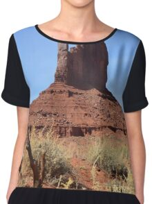 Monument Valley 17 Chiffon Top