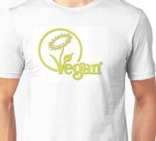 Vegan Symbol Unisex T-Shirt