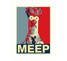 Beaker Meep Poster Art Print