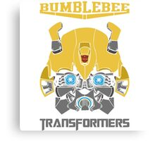 Bumblebee Transformers Canvas Print