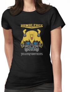 Bumblebee Transformers Womens Fitted T-Shirt
