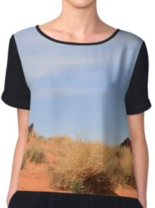 Monument Valley 21 Chiffon Top