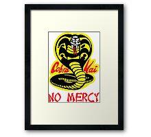 Cobra Kai Dojo Framed Print