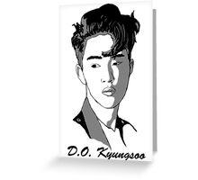 D.O. Kyungsoo Greeting Card