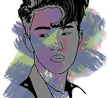 D.O Kyungsoo - color by kpoplace