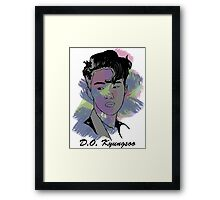 D.O Kyungsoo - color Framed Print