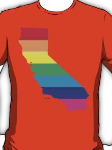 rainbow california T-Shirt