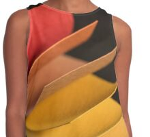 Colourful strips of cardboard as texture and background  Contrast Tank