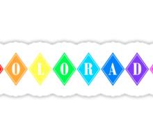 colorado diamonds Sticker