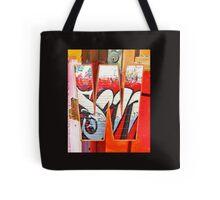 Urban Alphabet W Tote Bag