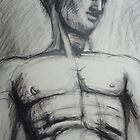 Adonis - Male Nude  by CarmenT
