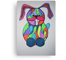 The Happy Hare Canvas Print
