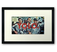 YOLO Ghostbusters Framed Print
