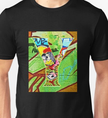 Urban Alphabet Y Unisex T-Shirt
