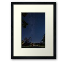 Starry Starry Hill End Framed Print