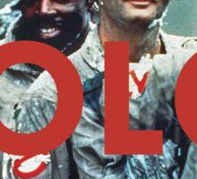 YOLO Ghostbusters Sticker