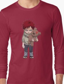 Gaara with his teddy bear - bobo Long Sleeve T-Shirt