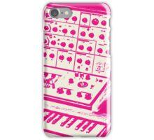 Pink VCS3 and DK1 design iPhone Case/Skin