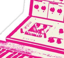 Pink VCS3 and DK1 design Sticker