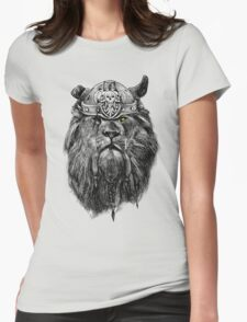 The eye of the lion vi/king Womens Fitted T-Shirt