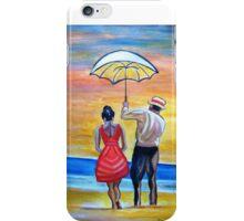 Romance on the Beach iPhone Case/Skin