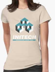 INITECH SPACE Womens Fitted T-Shirt