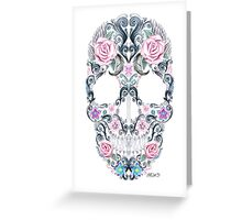 Colorskull Greeting Card