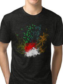 Elemental pokèball Tri-blend T-Shirt