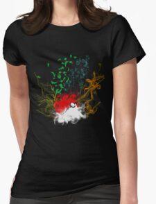 Elemental pokèball Womens Fitted T-Shirt