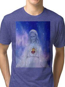 faith for mary Tri-blend T-Shirt