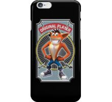 Crash Bandicoot Original Player iPhone Case/Skin