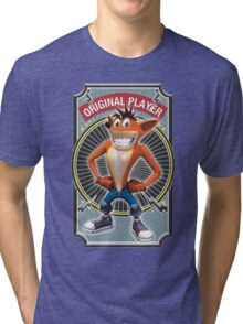 Crash Bandicoot Original Player Tri-blend T-Shirt
