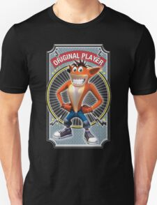 Crash Bandicoot Original Player Unisex T-Shirt