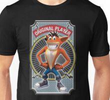 Crash Bandicoot Original Player Unisex T-Shirt