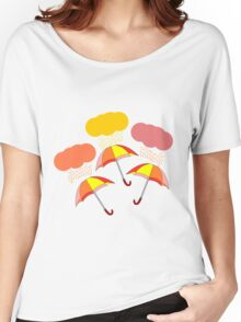 Colorful summer rain Women's Relaxed Fit T-Shirt