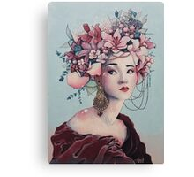 Korean Beauty Canvas Print