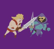 HeMan vs. Skeletor by monkeyminion